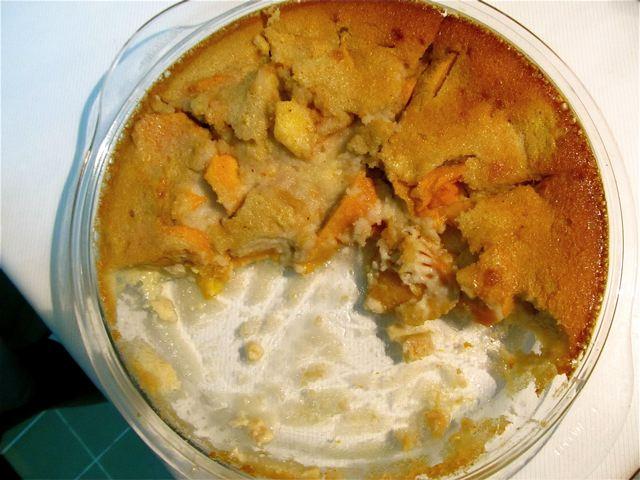 Healthy Dessert  - Mango Clafouti- goes fast
