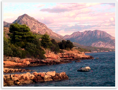 Croatia travel - Dalmation coast beauty