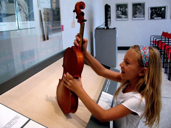 Italy travel for music lovers- Stradivari museum