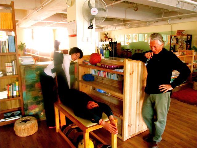 learing free self healing secret in China lajin