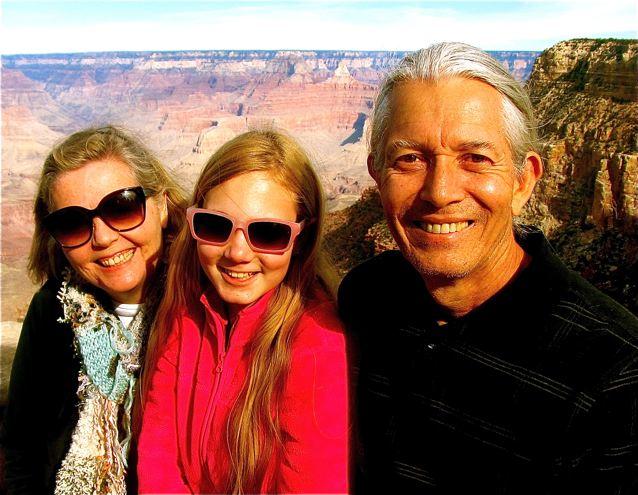 Soultravelers3 travel family enjoying Grand Canyon vacation
