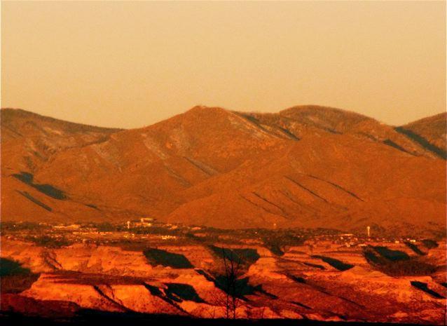 Romantic Getaway - Santa Fe sunrise