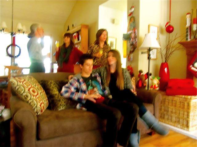 Celebrating Christmas  in California