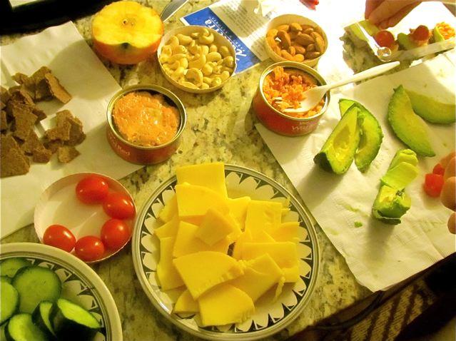 portable food for paleo/primal/ gluten-free road trip