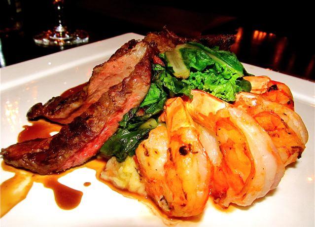 omg delish grassfed beef and lobster- paleo heaven