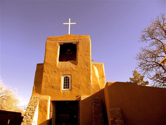 Santa Fe - San Miguel, the oldest church in the US