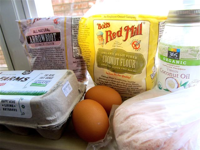 ingredients for paleo tortillas