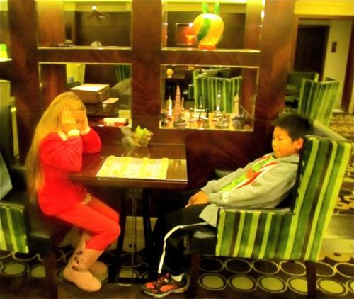 California kids in China
