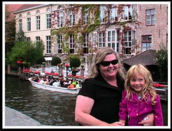 Celebrating Mothers! Brugge, Belgium