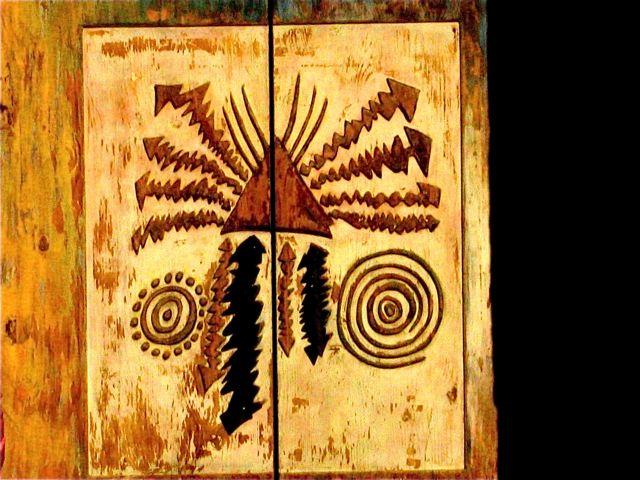 Native American art in Santa Fe