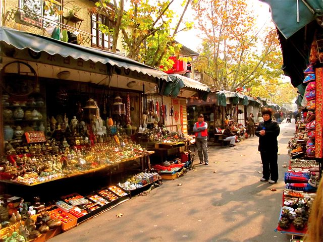 Teen travels to China and loves to shop the flea markets for major hauls