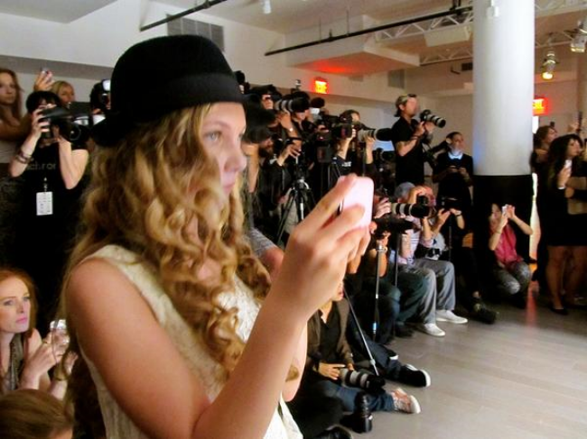 Travel Teen Mozart is youngest reporter at New York Fashion Week for Youtube and NYMBrand