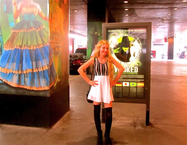 Mozart at New York Fashion Week taking in Wicked