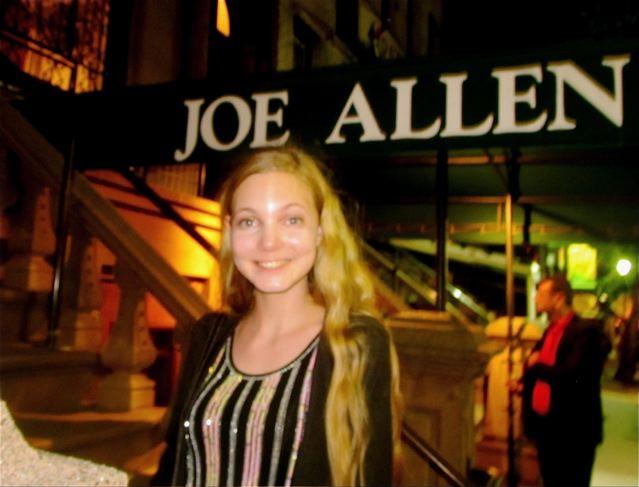 Singer Mozart is spotted at Joe Allens