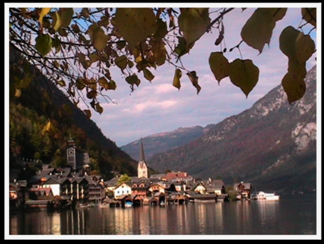 Stunning Fall Colors Around the World! Hallstatt