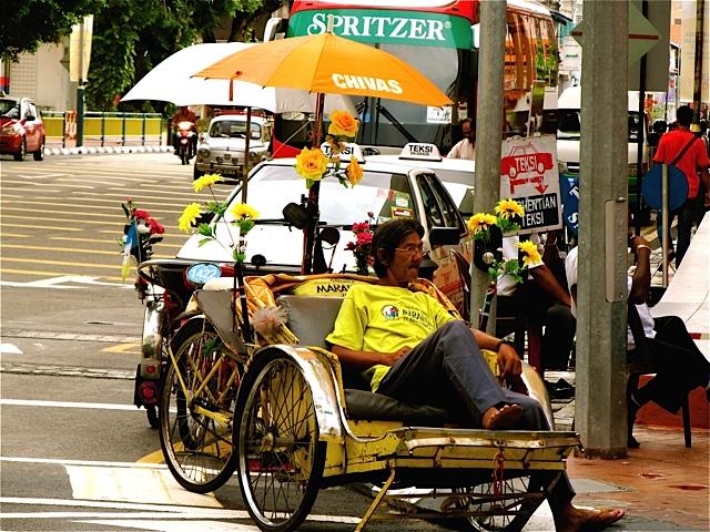 Fabulous Colorful Rickshaw Art Photo