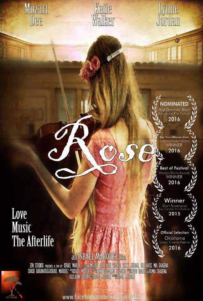 "Actress and singer Mozart starring in the movie ""Rose"""