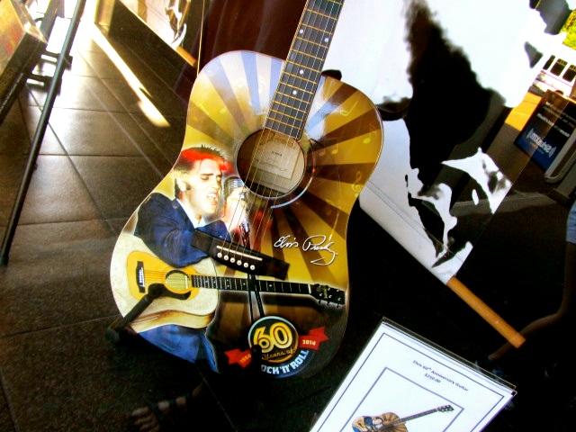 Graceland guitar and Elvis memorabilia