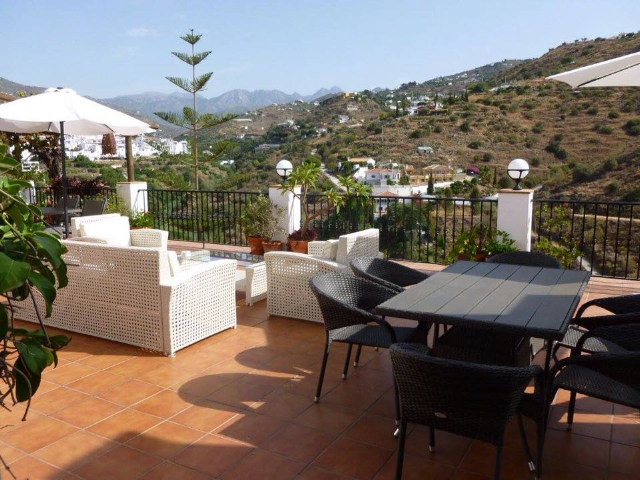 La Casa views in Torrox Spain near Malaga