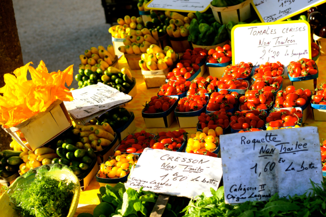 Best Provence Farmers' Market  - Coustellet in the Luberon