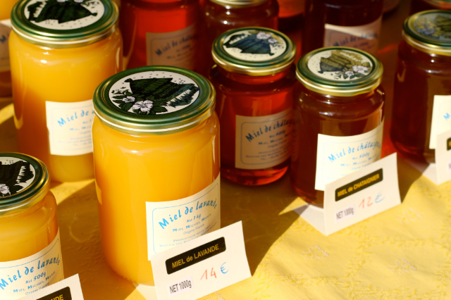 lavender honey at Best Provence Farmers' Market - Coustellet