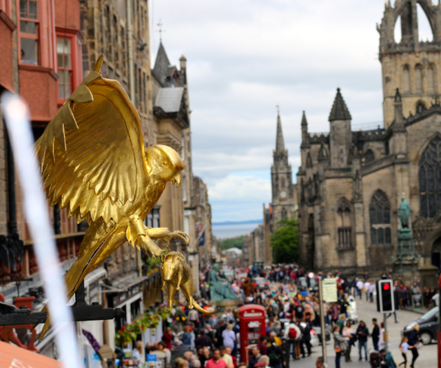 Visit Edinburgh at Fringe Festival or Not