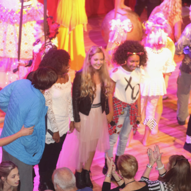 """Mozart Dee Sings on """"Born This Way"""" TV Show at Le PeTiT CiRqUe"""