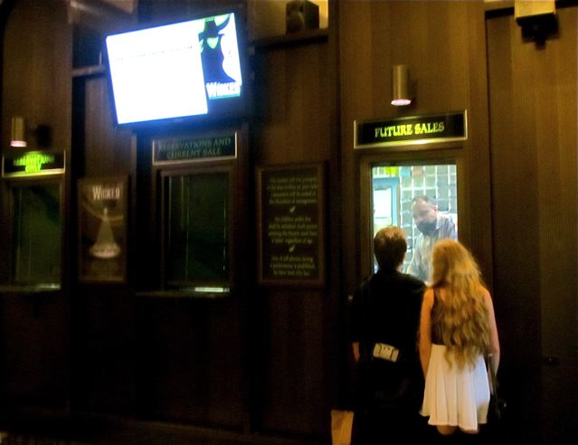 How to win the ticket lottery at Wicked in NYC