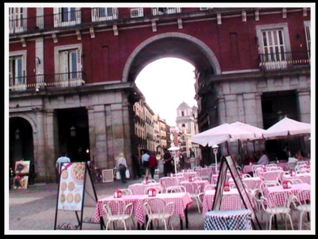 Madrid-  The Plaza Mayor