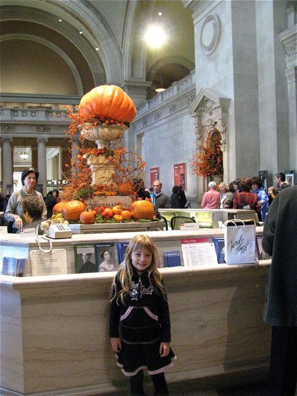 Halloween around the world - New York City at Met museum