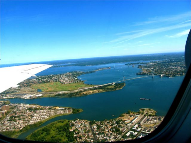 Best Places to Travel in 2015 - view from the airplane