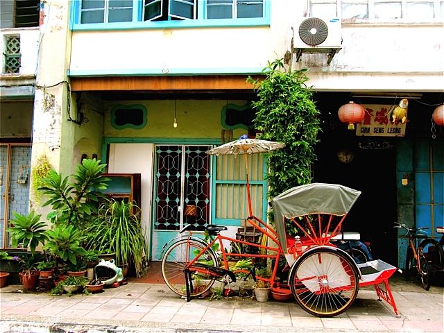 Rickshaw as Art Photo