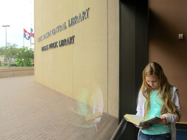 Teen Mozart's Speech on Travel at Dallas Public Library!