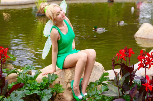 Happy Halloween! DIY Cute Cheap, Last Minute Costumes! Tinkerbell