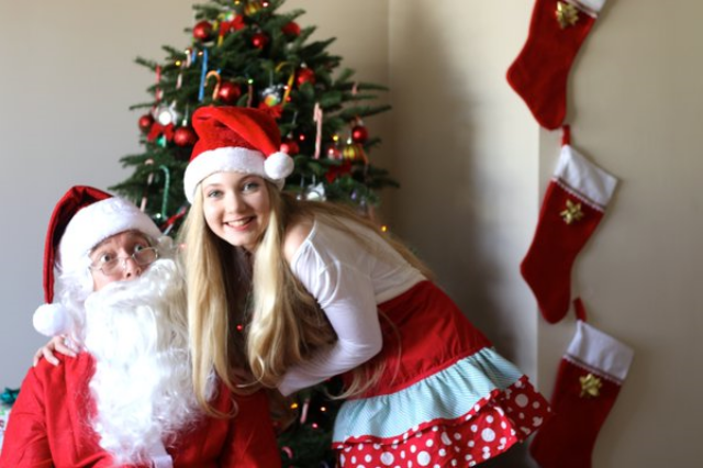 Happy Holidays from Soultravelers3! Mozart and Santa or is it Davinci?