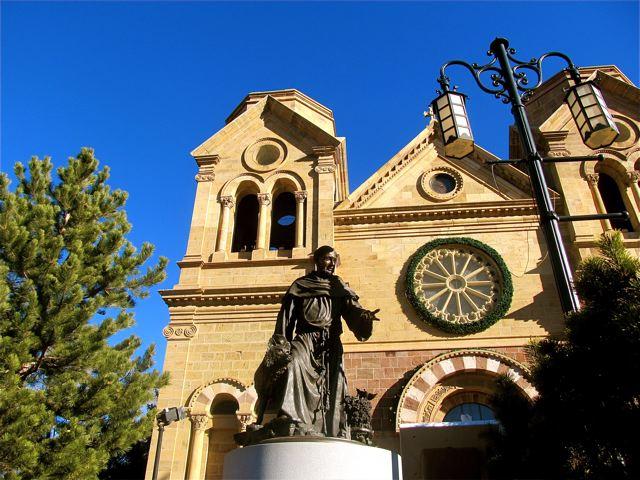 visiting beautiful Santa Fe