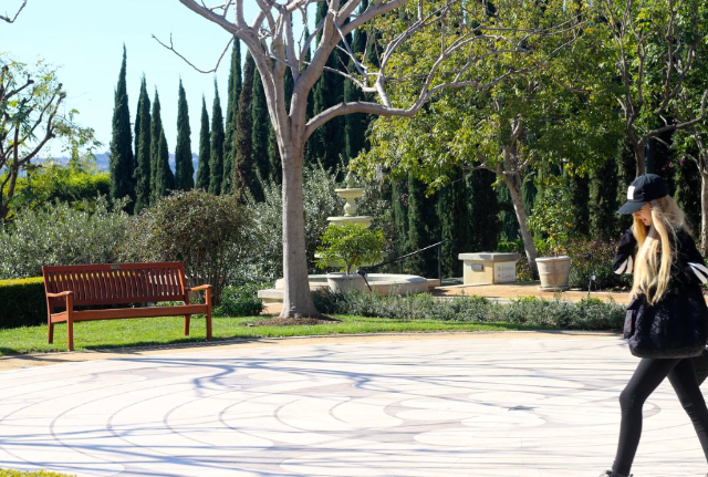 Peace Awareness Labyrinth & Gardens -  Relax Spa day  in Los Angeles!