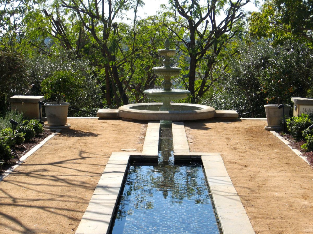 Peace Awareness Labyrinth & Gardens - Best peaceful free gardens in LA!