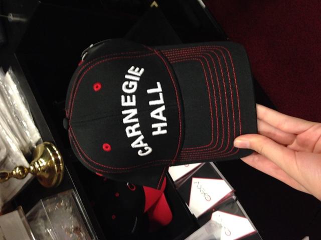 Carnegie Hall souvenir for Mozart after performance