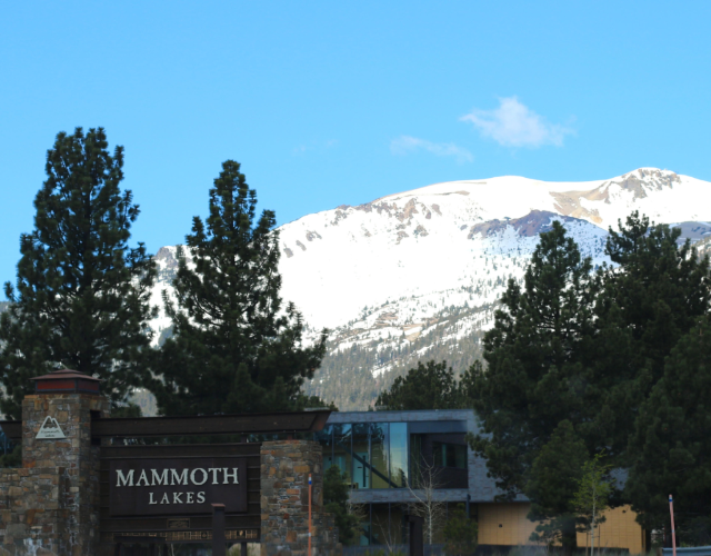 Driving to Mammoth lakes from Los Angeles!  Photo Essay