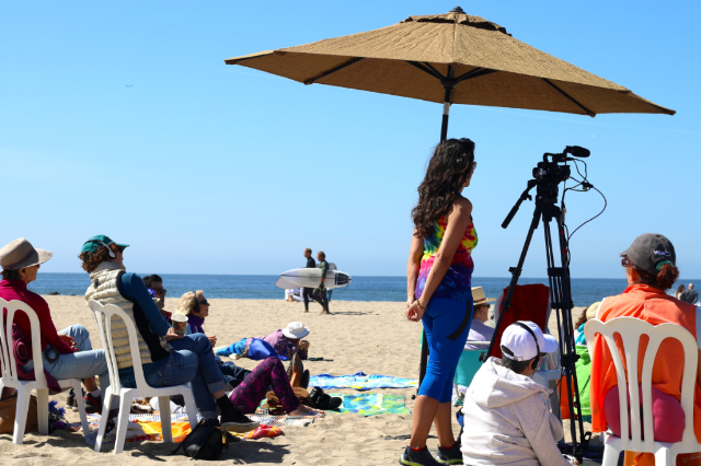 Easter at the Beach in Santa Monica!