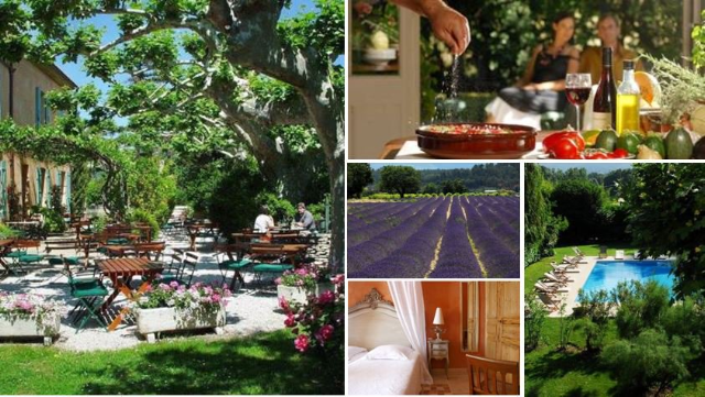 Luberon Provence at Le Mas des Grès hotel and restaurant
