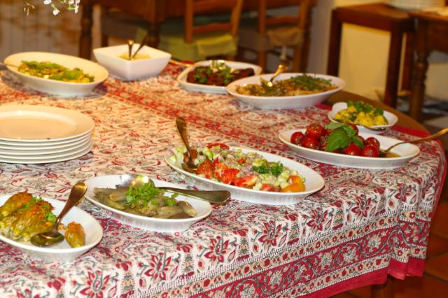 Provencal Cuisine at Hotel Les Mas Des Gres