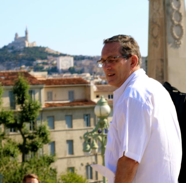Claude Benard at Marseille station