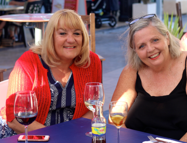 Marianne of East of Malaga and Jeanne Dee in Spain