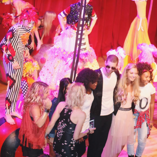 """Mozart Dee Sings on TV Show """"Born This Way"""" at Le PeTiT CiRqUe"""