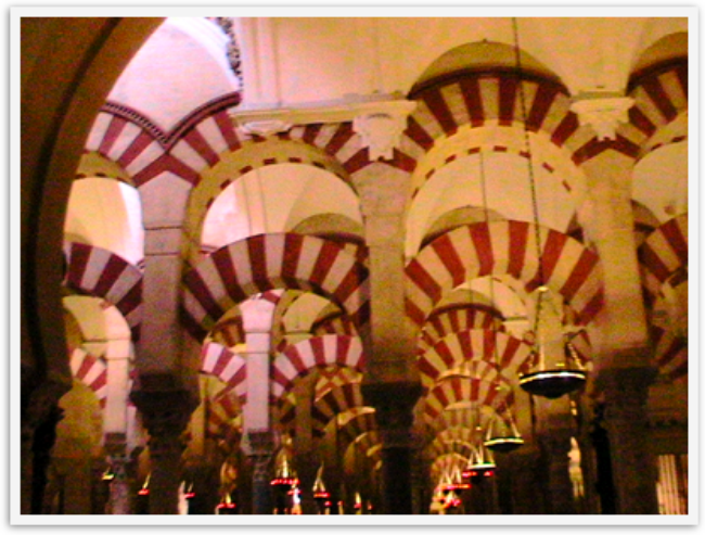 La Mezquita in Cordoba spain
