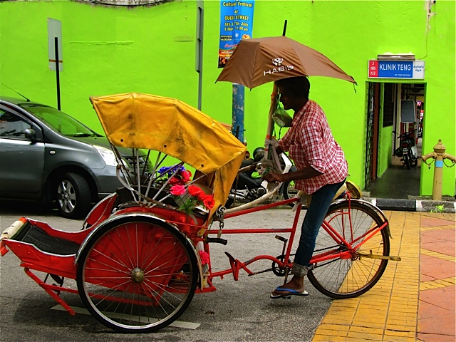 Colorful Rickshaw Art Photo