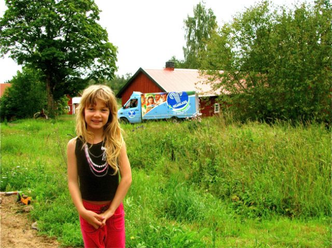 travel with kids to Sweden