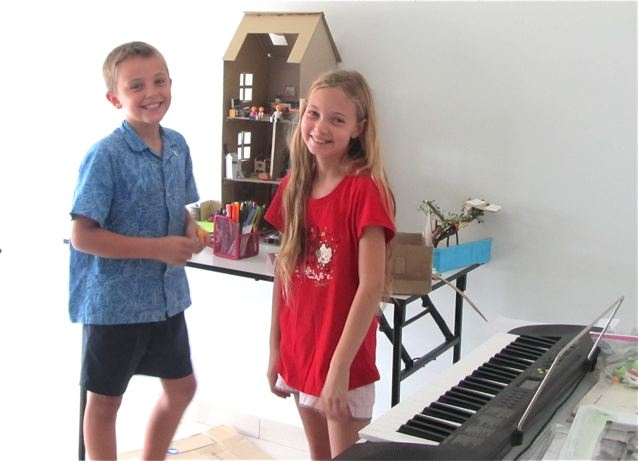 RTW Mozart's play room and music room in Asia